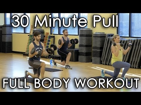 30 Minute Pull Workout