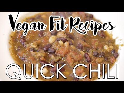 Quick Vegan Chili