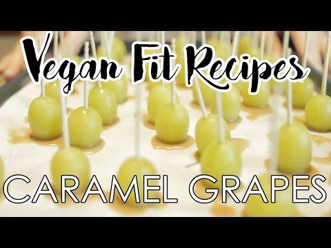 Vegan Caramel Grapes