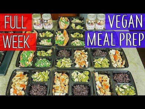 Vegan Meal Prep 2